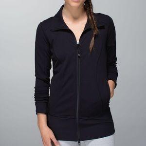 Lululemon Black Nice Asana Jacket